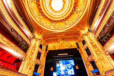 The Grand Hall of Lille Opera House, Lille, France