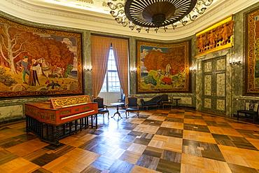 The Royal Reception Rooms, Christiansborg Palace, Copenhagen, Denmark, Scandinavia, Europe