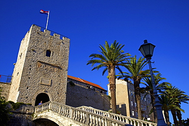 Land Gate, Korcula, Croatia, Europe