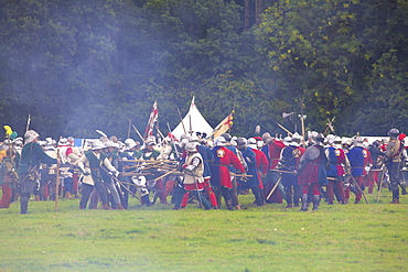 Battle of Bosworth Field Re-enactment, Market Bosworth, Leicestershire, England, United Kingdom, Europe
