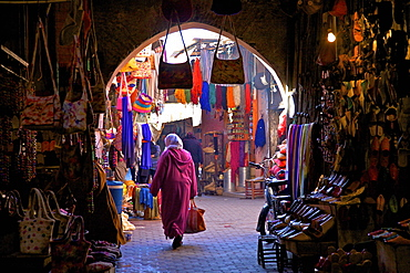Souk, Marrakech, Morocco, North Africa, Africa  - 1126-393