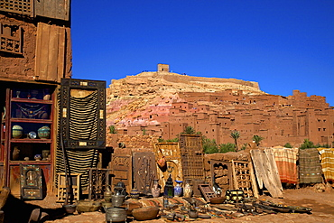 Ait-Benhaddou Kasbah, UNESCO World Heritage Site, Morocco, North Africa, Africa
