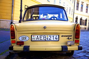 Trabant Car, Budapest, Hungary, Europe