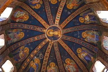 Virgin and Child, interior of Church of St. Saviour in Chora (Kariye Camii), UNESCO World Heritage Site, Istanbul, Turkey, Europe