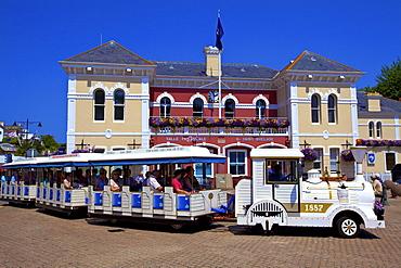 Le Petit Train, St. Aubin, Jersey, Channel Islands, Europe