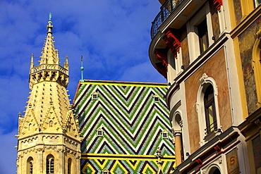 St. Stephen's Cathedral, UNESCO World Heritage Site, Vienna, Austria, Europe