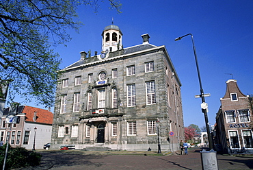 Town hall, built 1688, architect Steven Vennecool, Enkhuizen, Netherlands / City Hall