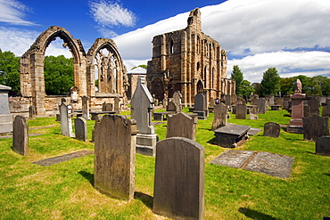 Ruins of Elgin Cathedral and cemetery, Elgin, Moray, Scotland
