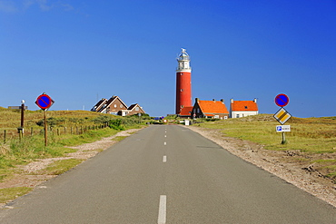Lighthouse, De Cocksdorp, Island Texel, North Holland, Netherlands