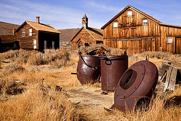 Ghost town, mining town, Bodie State Historic Park, Bodie, California, USA