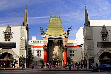 Movie theatre, Grauman's Chinese Theatre, Hollywood Boulevard, Hollywood, Los Angeles, California, USA / Mann's Chinese Theatre, L.A.
