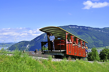 Stanserhorn Railway, rack-and-pinion railway, rack railway, Stans, Nidwalden, Switzerland / Stanserhorn-Bahn, Stanserhorn Bahn