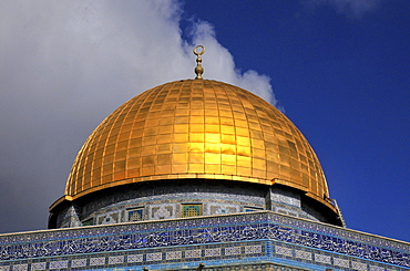 Cupola, Dome of the Rock, Temple Mount, Jerusalem, Israel