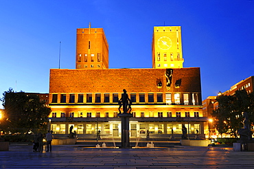 Old City Hall, Oslo, Norway / Oslo radhus