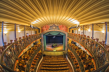Teatro municipal, oldest functioning theater in Latin America, Ouro Preto, Minas Gerais, Brazil / Municipal Theatre