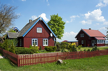 House, Preila, Curonian Spit, Lithuania, Baltic states, Europe