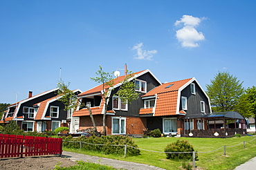House, Pervalka, Curonian Spit, Lithuania, Baltic states, Europe