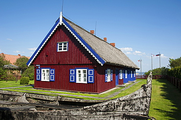 Museum, Nida, Curonian Spit, Lithuania, Baltic states, Europe