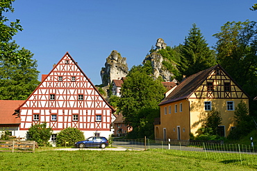 Tuchersfeld, Pottenstein, Franconian Switzerland, Bavaria, Germany, Tüchersfeld