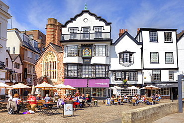Cathedral Close, Exeter, Devon, England