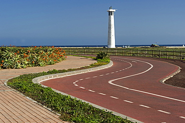 Fuerteventura, Canary Island, Spain, Lighthouse in Morro Jable, Jandia, Faro de Jandia