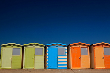 Bath houses, Seven Sisters, Seaford, Sussex, England