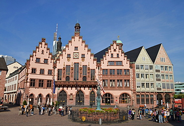 Cityhall Romer, Frankfurt on the Main, Hesse, Germany / Römer