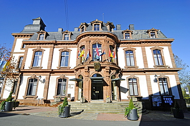 town hall, Wiltz, Luxembourg