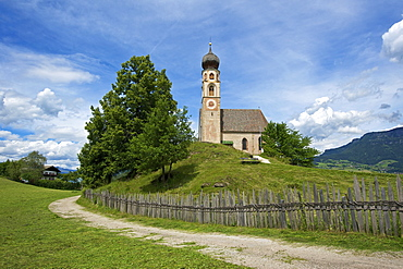 St. Konstantin in Voels, Alpe di Siusi, South Tyrol, Italy