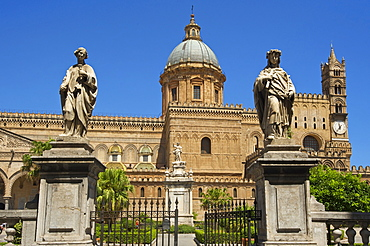 Cathedral Maria Santissima Assunta in Palermo, Sicily, Italy