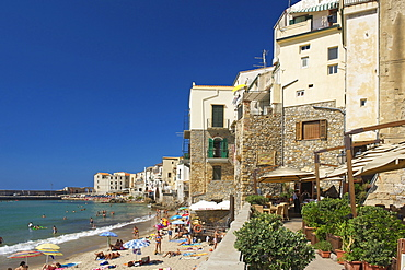 Old Town, Cefalu, Sicily, Italy
