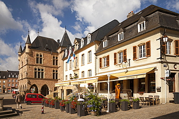 Town hall, Market square, Echternach, Luxembourg