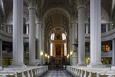 Interior of Nikolai Church, Leipzig, Saxony, Germany