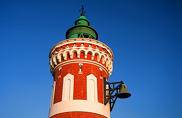 Lighthouse Kaiserschleuse-Ostfeuer, Bremerhaven, Bremen, Germany
