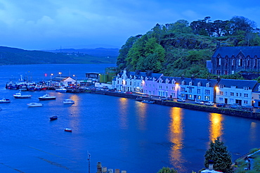 Harbour, Portree, Skye Island, Highlands, Scotland