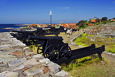 Fortress and canons, Christianso Island, Denmark / canon