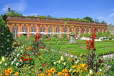 Orangery and Cafe, castle Weilburg, Weilburg, Hesse, Germany