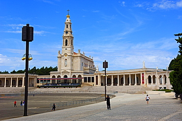 Sanctuary of Our Lady of Fatima, Fatima, Portugal / Basilica of Our Lady of the Rosary, Santuario de Fatima