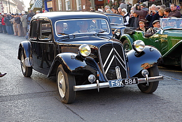 1940s Citroen 11 Bl Classic Car, Pickering, North Yorkshire, Yorkshire, England, United Kingdom, Europe