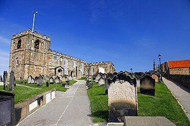 St. Mary's Church, Whitby, North Yorkshire, Yorkshire, England, United Kingdom, Europe