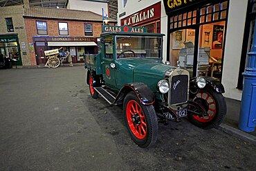 Old Austin pickup truck, Basingstoke, Hampshire, England, United Kingdom, Europe