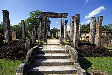 Atadage Tooth Relic Shrine, Polonnaruwa, UNESCO World Heritage Site, Sri Lanka, Asia