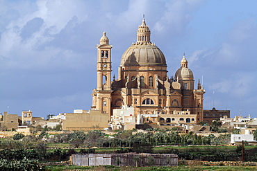 Church of St. John the Baptist, Gozo, Malta, Europe