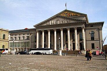 National Theatre, Munich, Bavaria, Germany, Europe