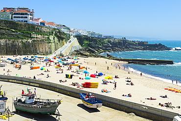 Praia dos Pescadores (Fishermen's Beach), Ericeira, Lisbon Coast, Portugal, Europe