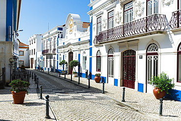 Cultural center Jaime Lobo E Silva, Ericeira city center, Lisbon Coast, Portugal, Europe