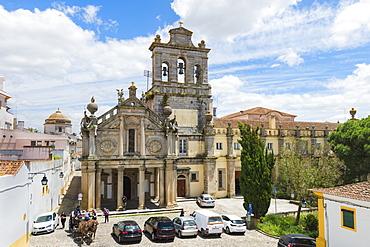Church and Convent Da Graca, UNESCO World Heritage Site, Evora, Alentejo, Portugal, Europe