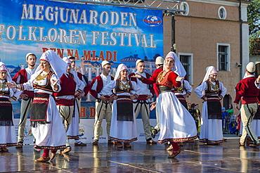 International Folklore Festival, Youth Day, Skopje, Macedonia, Europe
