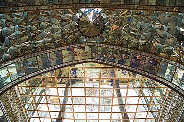 Golestan Palace, UNESCO World Heritage Site, Marble Throne Hall, Tehran, Islamic Republic of Iran, Middle East