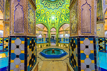 Sultan Amir Ahmad Bathhouse, Kashan, Isfahan Province, Islamic Republic of Iran, Middle East